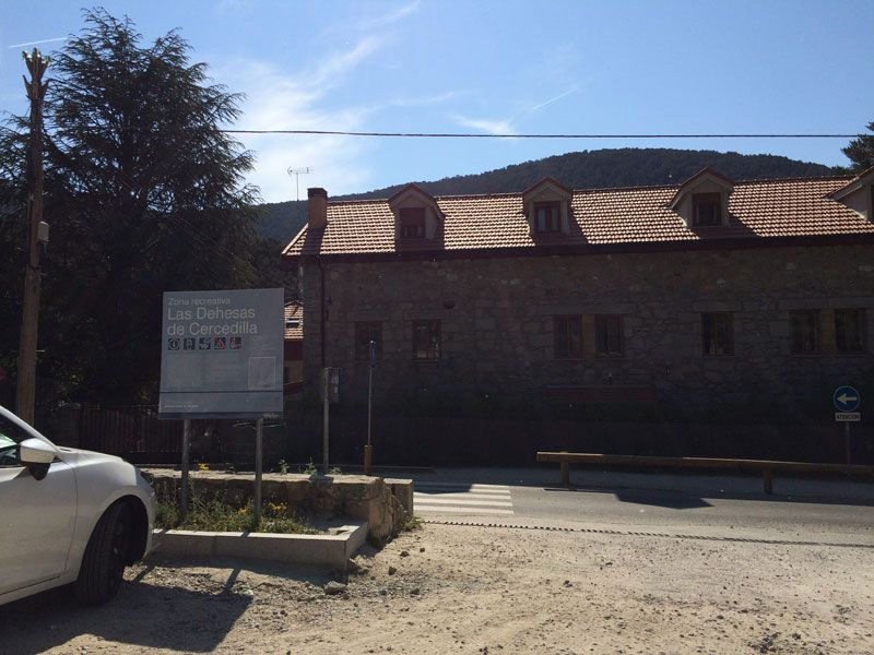Área recreativa de las Dehesas de Cercedilla - Ruta de los Miradores de los Poetas