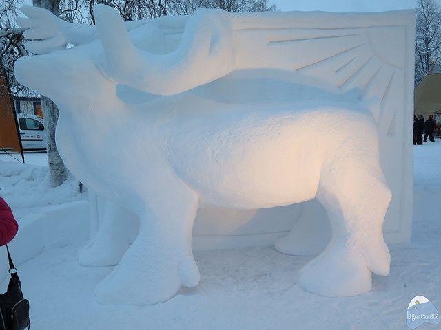 La edición 409 del mercado de invierno de Jokkmokk hace tributo al reno