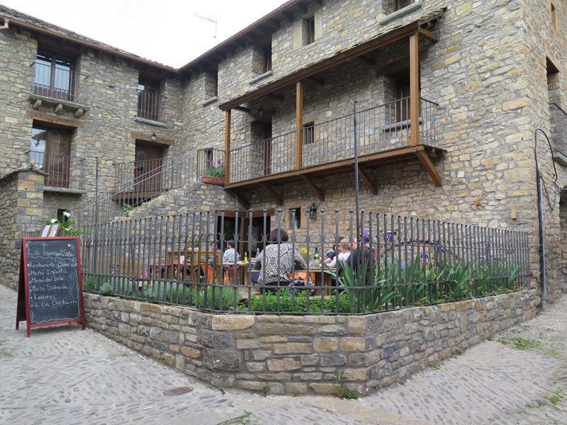 Qué ver en Ainsa - Bar La Trompetilla de Ainsa - Huesca