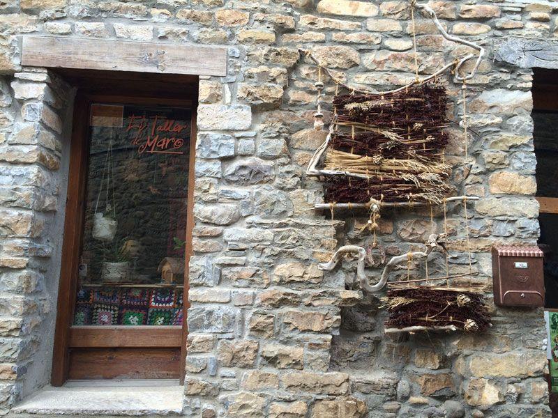 Qué ver en Ainsa - El Taller de Mar@ en Ainsa - Huesca