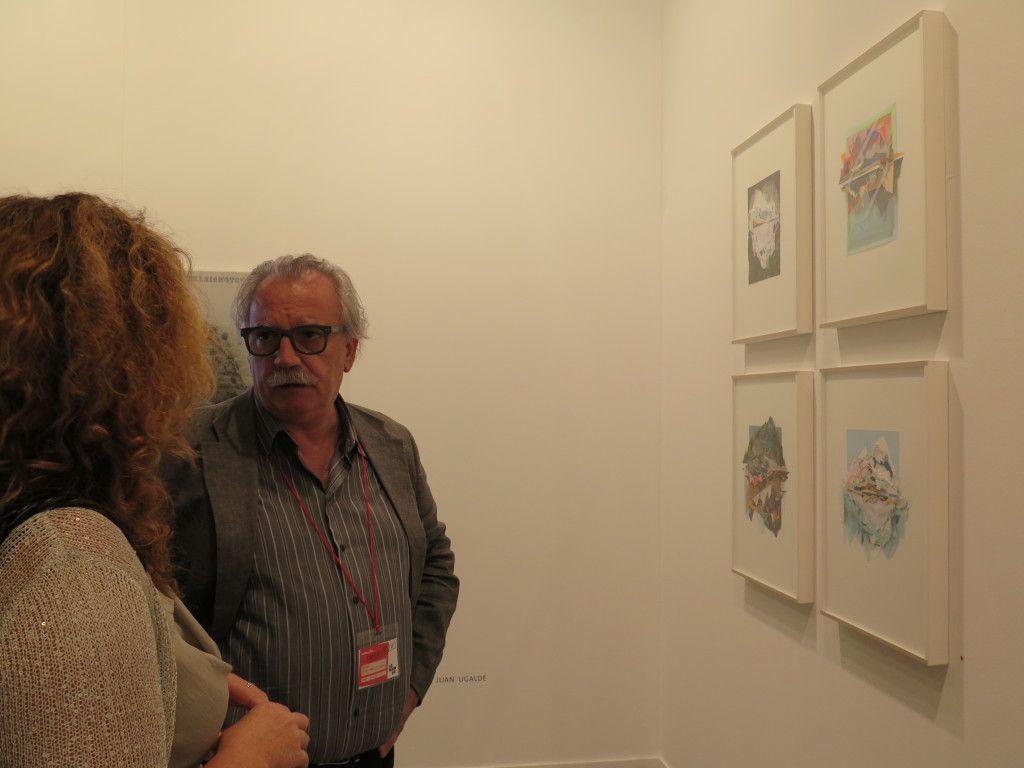 Estampa 2014. Stand de la Galería Moisés Pérez Albéniz