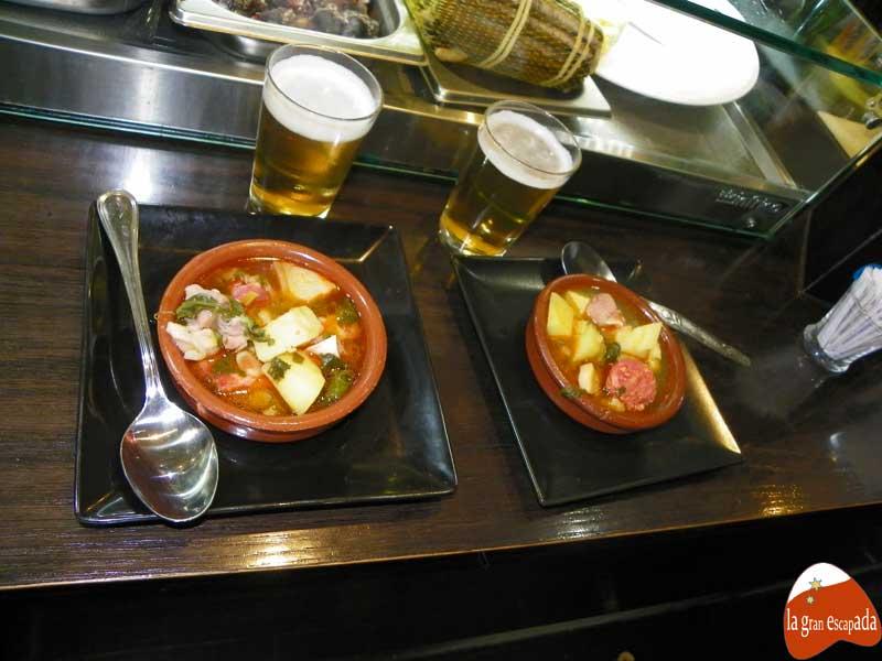 Feria de la Cuchara de Carabanchel - pote gallego en O Souto