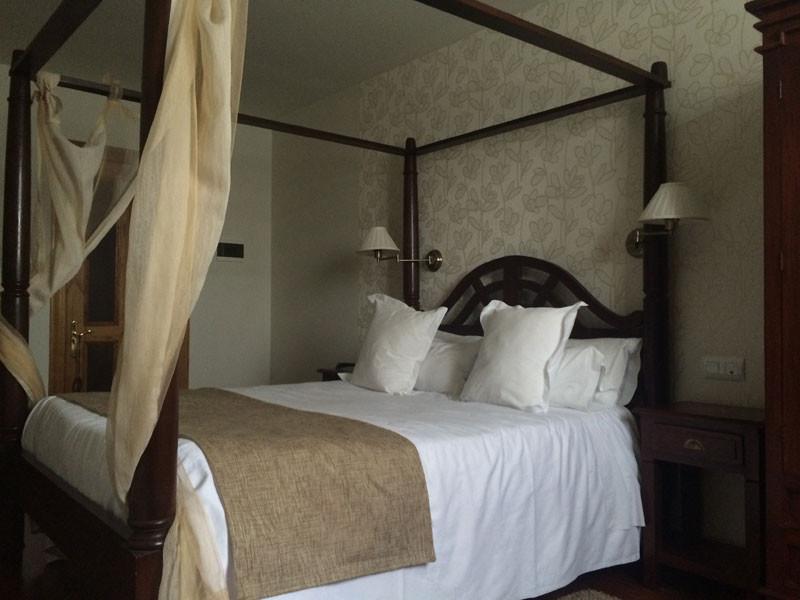 Habitación del hotel Casona del Nansa