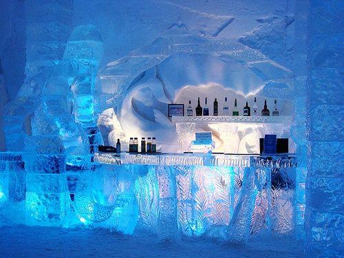 Bar del hotel ICE Hotel de Suecia