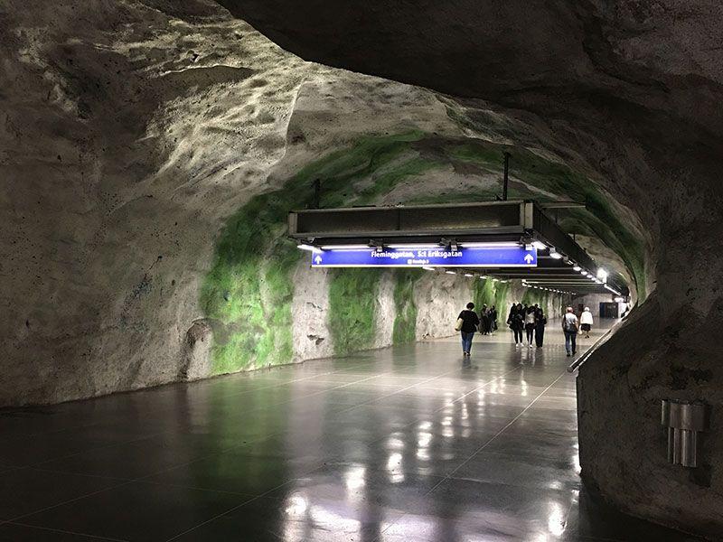 Las estaciones más boitas del metro de Estocolmo - Fridhemsplam