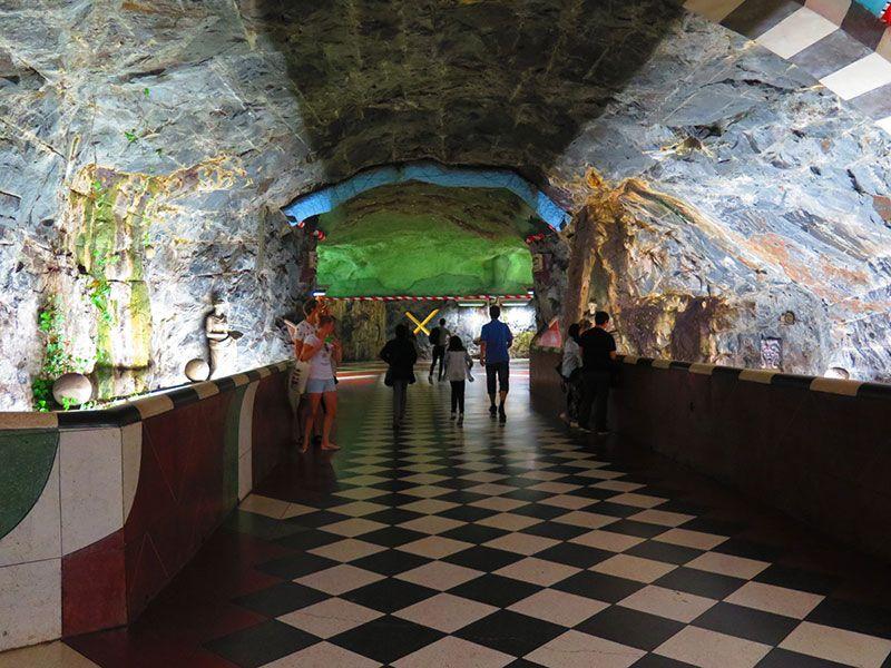 Las estaciones más boitas del metro de Estocolmo -