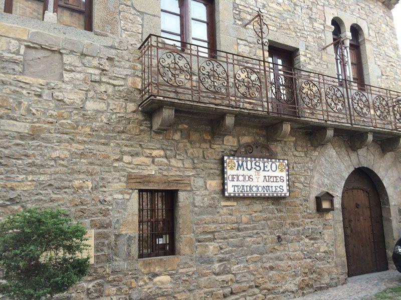 Qué ver en Ainsa - Museo de Oficios y Artes tradicionales de Ainsa - Huesca