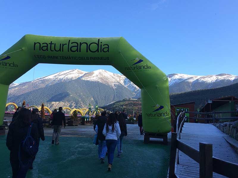 Tobotronc Andorra - Acceso a Naturlandia