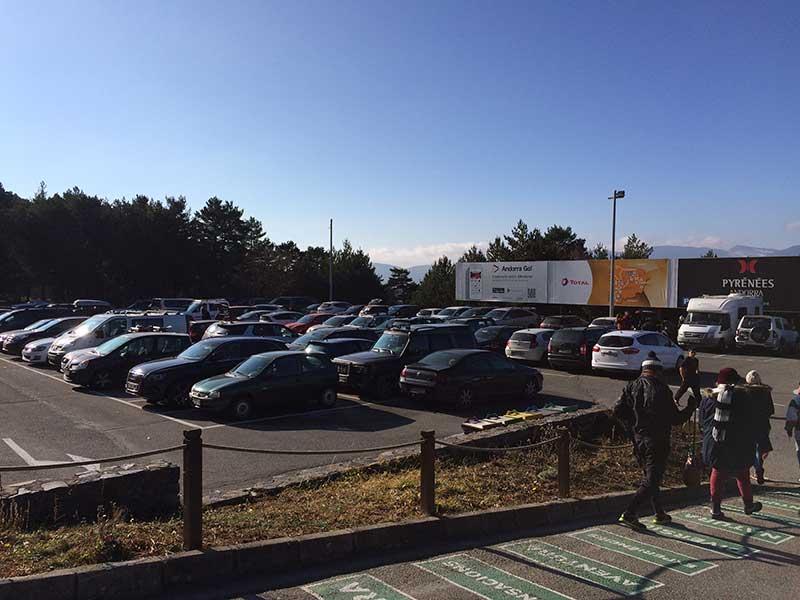 Tobotronc Andorra - Parking gratuito de Naturlandia