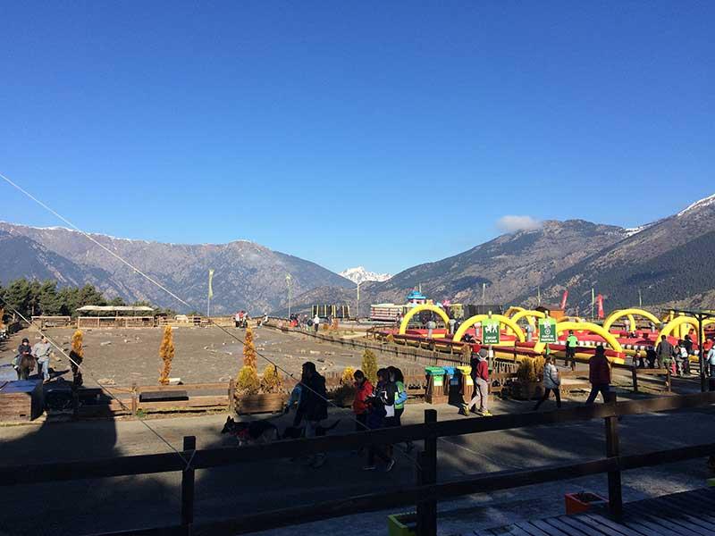 Tobotronc Andorra - Parte de las atracciones de Naturlandia