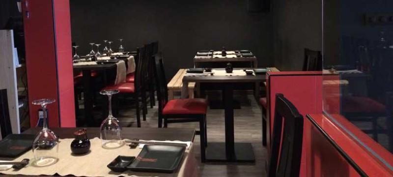 Salón del restaurante japonés Casa Sushi