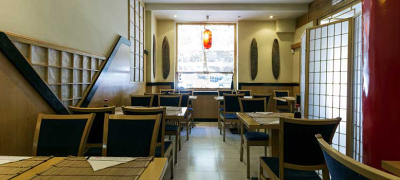 Salón del restaurante japonés Nagoya