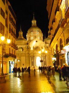 Zaragoza de noche