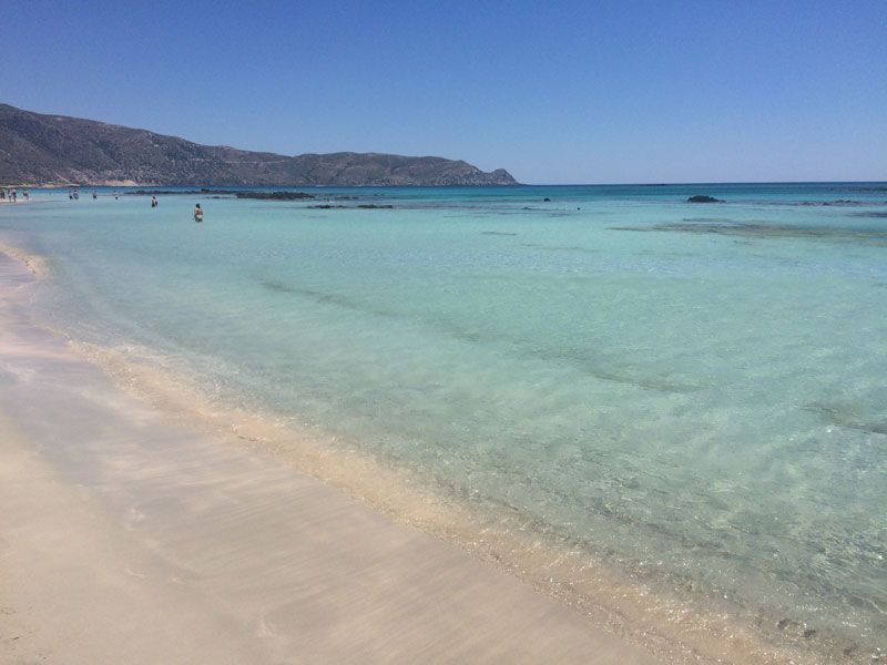 Te echamos de menos Playa de Elafonisi...