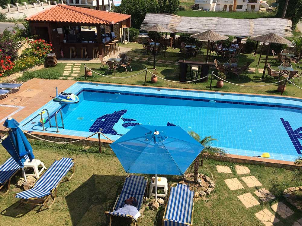 Piscina de la Villa Gereoudis
