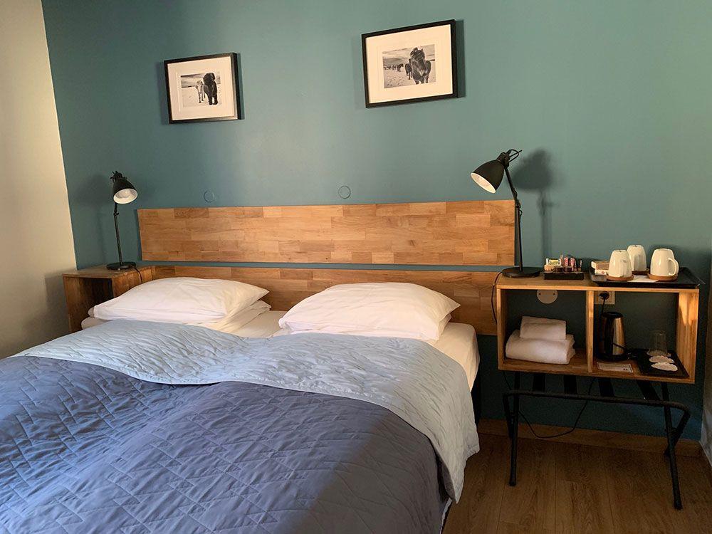 Alojamiento en Islandia Adventure Hotel Hof - Cama