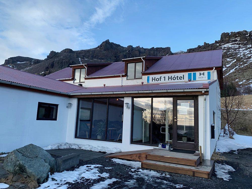 Alojamiento en Islandia Adventure Hotel Hof
