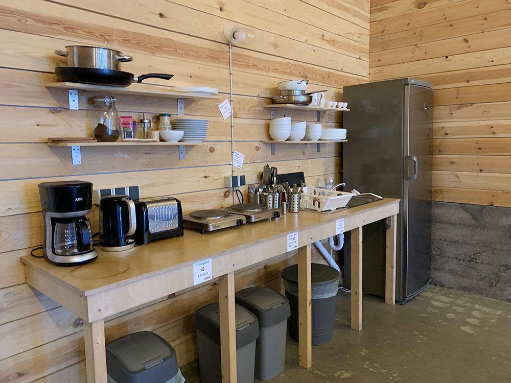 Alojamiento en Islandia - Havarí Hostel - Cocina