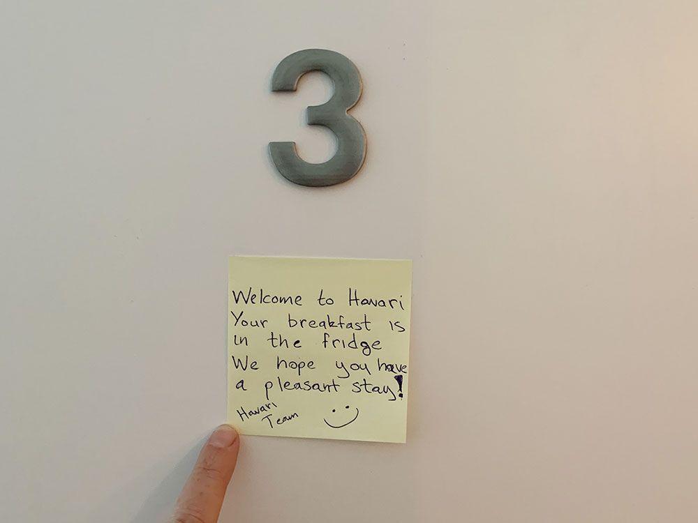 Alojamiento en Islandia - Havarí Hostel - Bienvenida