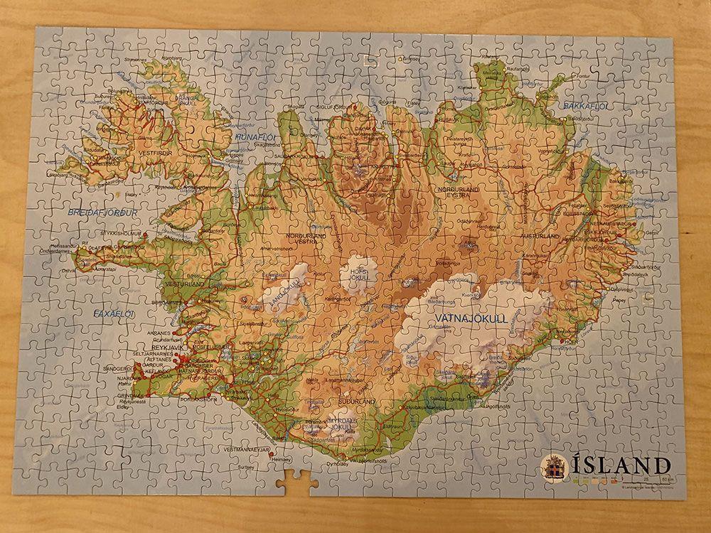 Alojamiento en Islandia - Havarí Hostel - Puzzle