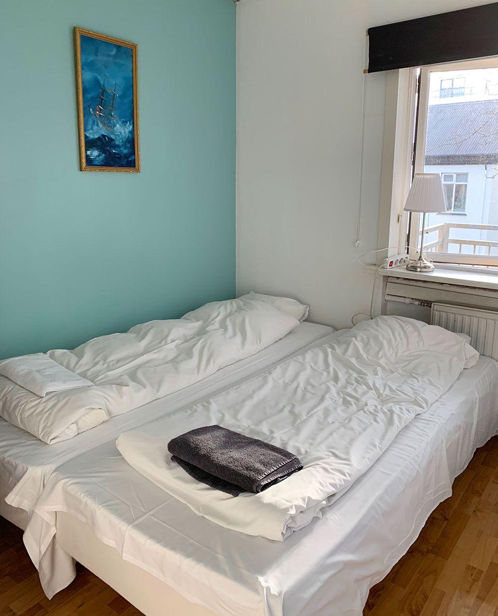 Alojamiento en Islandia - Loki Guesthouse - Habitación