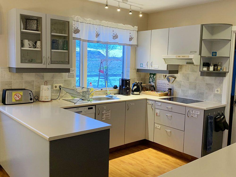Alojamiento en Islandia - Skyggnir Bed and Breakfast - Cocina