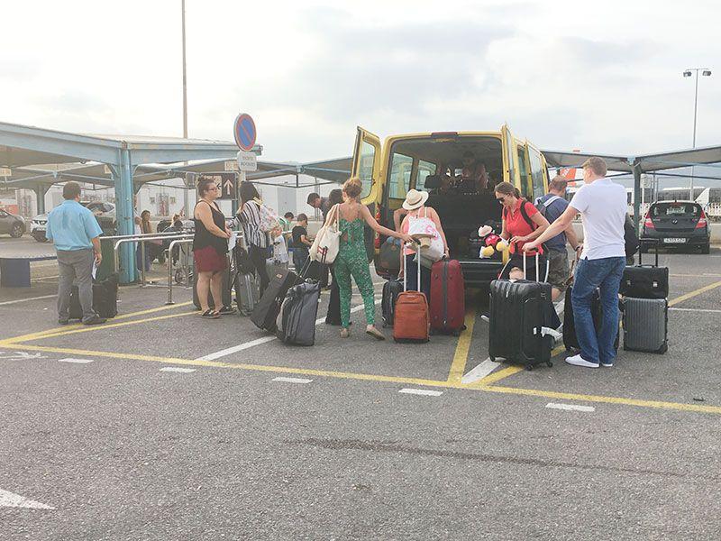 Alquilar un coche en Ibiza - Servicio de traslado