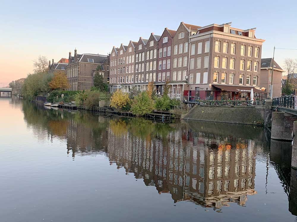 Reflejos de Amsterdam