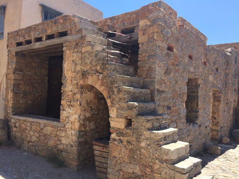 Antigua edificación que perfectamente pudo ser una taberna