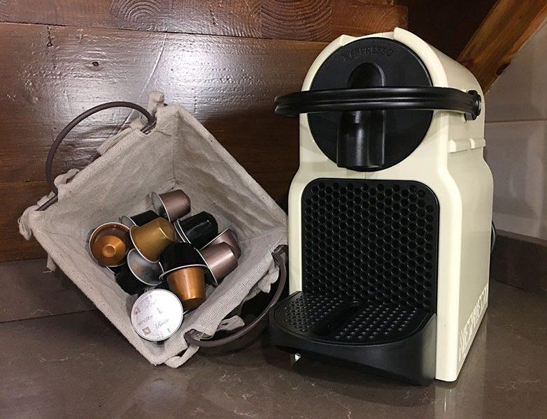 Cápsulas y cafetera Nespresso