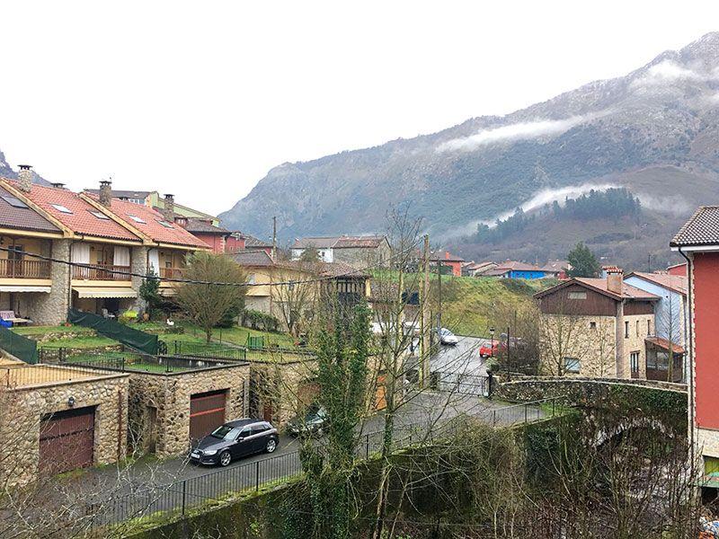 Arenas de Cabrales en invierno - Casa Rural El Rabión - Vistas