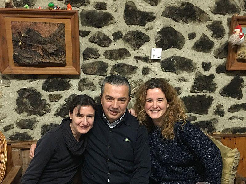 Arenas de Cabrales en invierno - La Fuentina - Mar, Ito y Eli