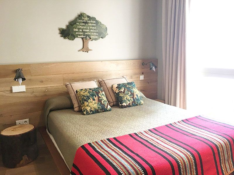 Artesa Suites & SPA - Suite El bosque - Cama