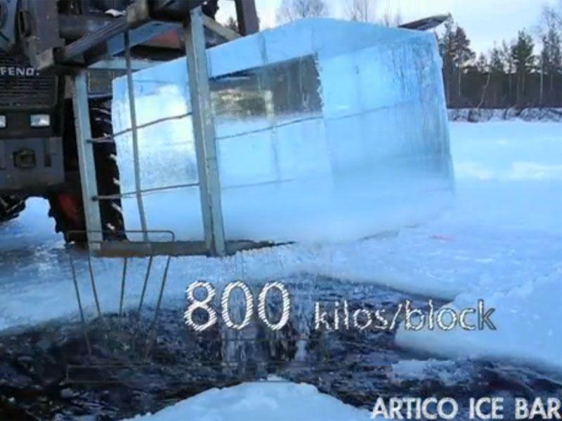 Ártico Ice Bar - Bloque de hielo