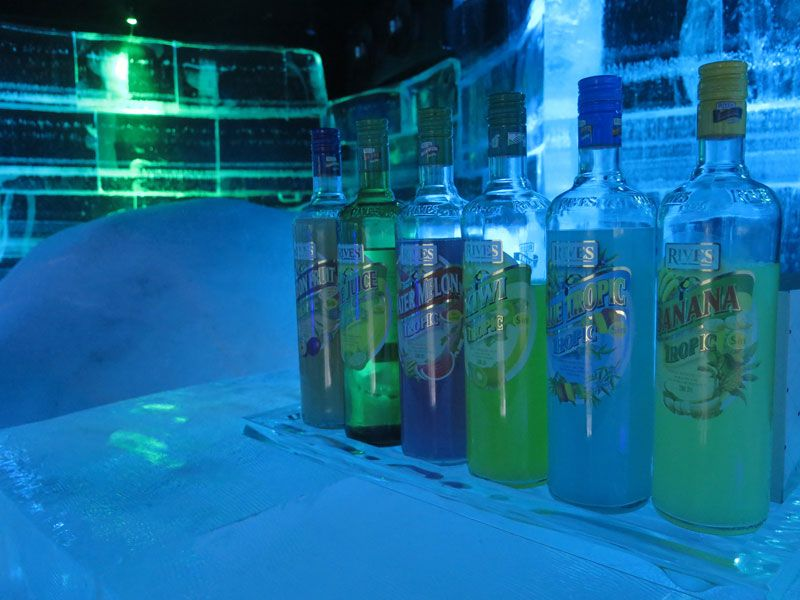 Ártico Ice Bar - Licores sin alcohol