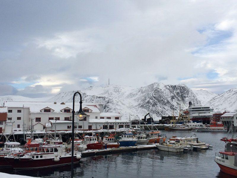 Ártico Ice Bar - Puerto de Honningsvåg
