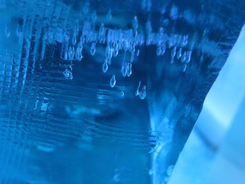 Ártico Ice Bar - Textura del hielo