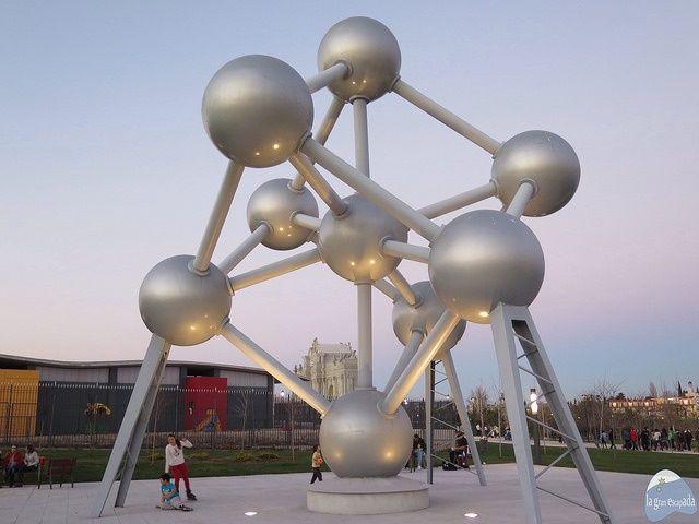 Atomium del Parque Europa Madrid
