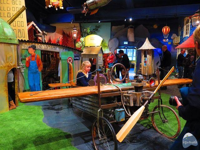 Una de las atracciones del museo Junibacken