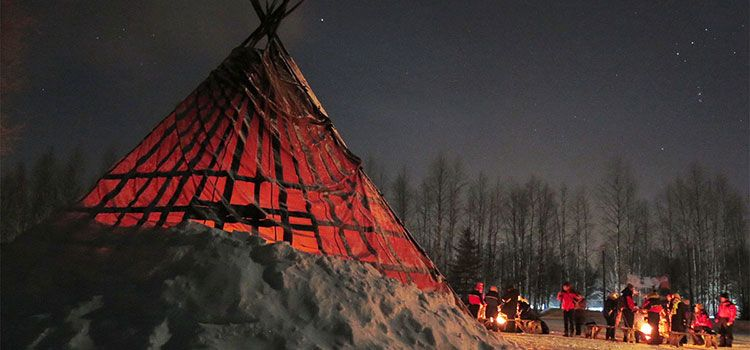 A la caza de Auroras Boreales en Rovaniemi
