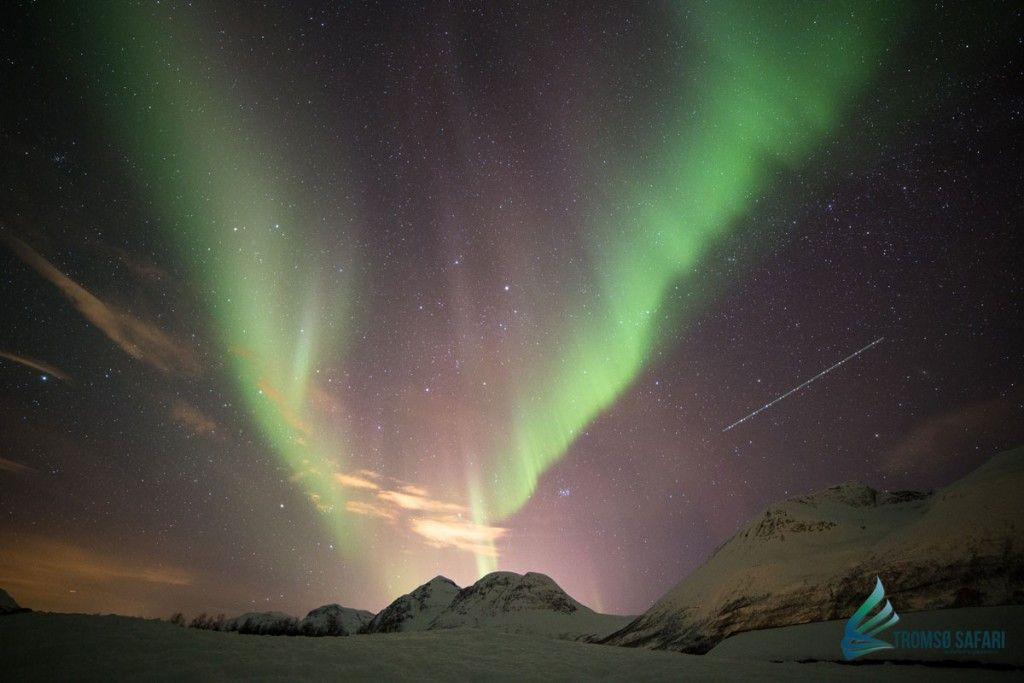 Auroras boreales en Tromsø - Aurora Boreal