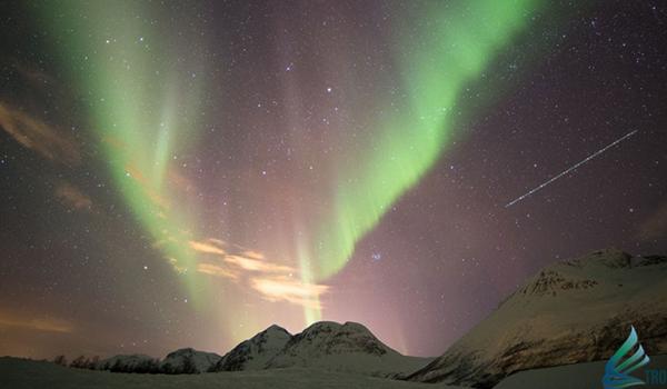 De repente… una Aurora Boreal en Tromsø
