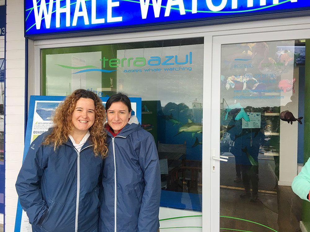 Avistamiento ballenas azores - Whale Watching Terra Azores - Eli y Mar