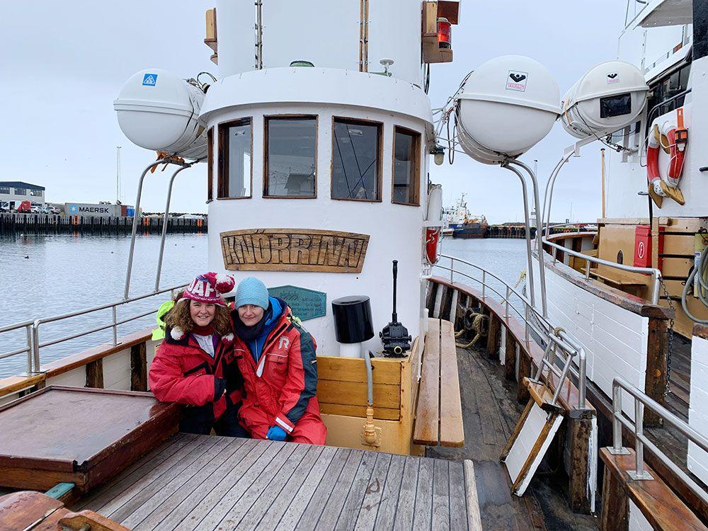 Avistamiento de ballenas en Islandia - North Sailing