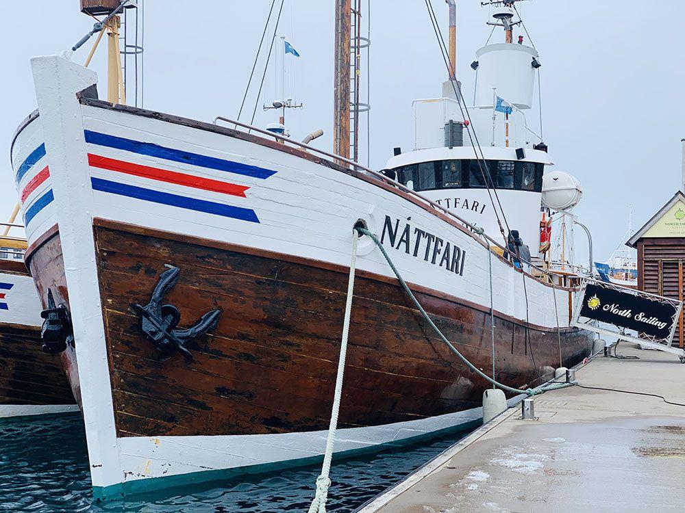 Uno de los barcos de North Sailing