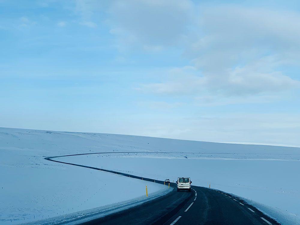 Avistamiento de ballenas en Islandia - Carretera