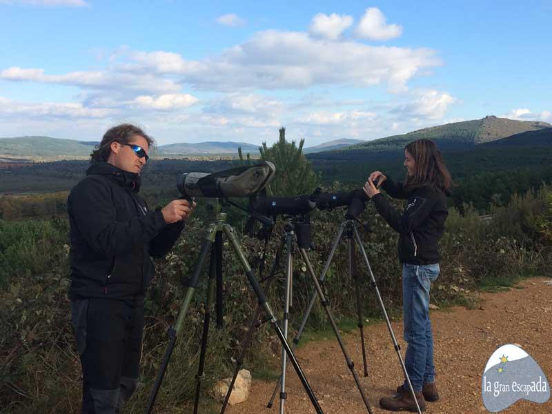 Avistamiento de lobos en Zamora - Preparativos de Lobisome Naturaleza