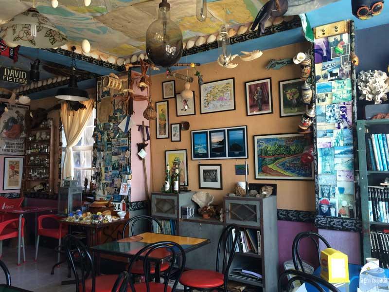 Bar La Galería en Fisterra