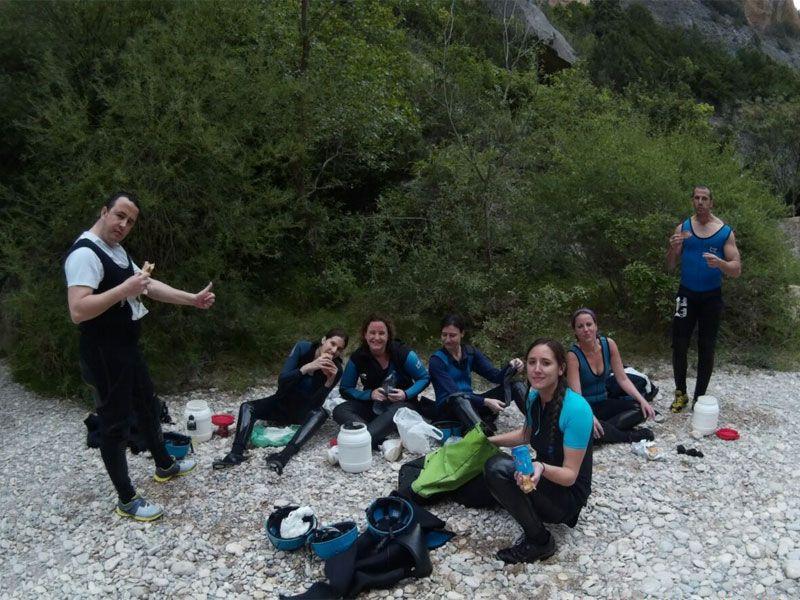 Barranquismo en Huesca - Sierra de Guara - Villacantal