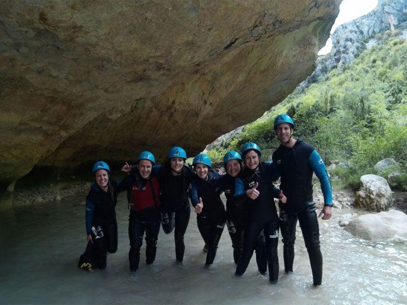 Barranquismo en Huesca - Sierra de Guara - Barranco del Vero